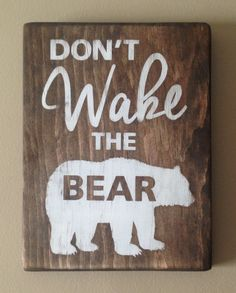 Don't Wake the Bear or Cub by ArtfullyVenture on Etsy
