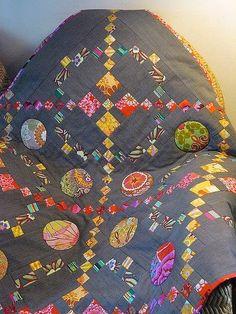Sarah Fielke Quilts, Cute Quilts, Contemporary Quilts, Traditional Quilts, Quilting Designs, Quilt Design, Anna, Textile Artists, Applique Quilts