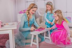 Prinzessin4Party Kinderanimation am Kindergeburtstag