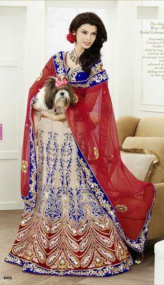 Khazanakart Heavy Embroidery Net and Satin Saree