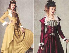 Naisten pukeutuminen (ylimystö)