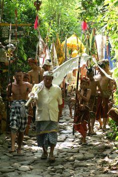 Procession on Bali
