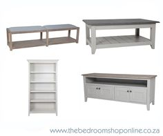 Bookshelves, bed-ends, plasma units and coffee tables… all available from www.thebedroomshoponline.co.za in a wide range of finishes.#TheBedroomShopOnline #Furniture Bed End, Knysna, Coffee Tables, Bookshelves, It Is Finished, Range, Bedroom, Shopping, Furniture