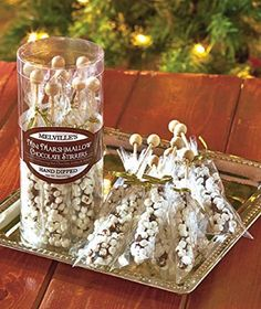 1/13/2017 -- Gourmet Mini Marshmallow Chocolate Stirrers Hand. Only $15.00! :)
