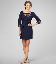 Shauna Dress. Navy. Lilly Pulitzer. $278.