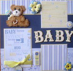 Tear Bear - Scrapbook Page
