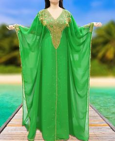 Bridesmaid Maxi Evening Gown Athena African Attire kaftan Dresses for women. African Attire, African Dress, Kaftan Abaya, Maxi Gowns, Dresses, Georgette Fabric, Spandex Dress, Party Wear, Evening Gowns