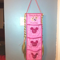 Rapunzel inspired Fish Extender we used on the Disney Fantasy Maiden Voyage.