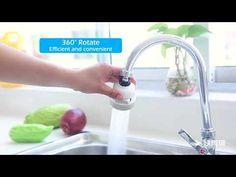 Úsporný adaptér na vodu: Úspora voda vdomácnosti sa vždy uvítá! Tento adaptér ponúka tri typy prúdenia: vertikálny prúd, silné a slabé striekanie. Navoľte si akýkoľvektyp! Adaptér využijete hlavne vkuchynskom dreze pri umývaní zeleniny či riadu. Zaistí úsporu vody! Hlavicu… Save Water, Faucet, Flexibility, Sink, Make It Yourself, Rotation, Jets, Cleanser, Products