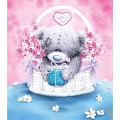 Tatty Teddy Images and Pictures - Page 8 Teddy Images, Teddy Bear Pictures, Cute Images, Cute Pictures, Tatty Teddy, Bear Card, Blue Nose Friends, Bear Illustration, Love Bear