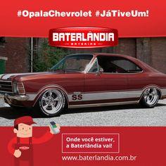 Se existe um modelo que representa a história da Chevrolet no Brasil, ele é o Opala. Primeiro automóvel de passeio fabricado pela marca no país, ele era baseado no Opel Rekord europeu! Quem já teve um, compartilha!! #Baterlândia #OpalaChevrolet #JáTiveUm!