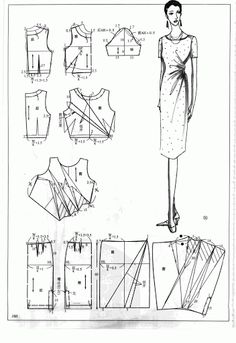 Chinese method of pattern making- Dresses,  SSvetLanaV - Álbumes web de Picasa