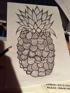 ananas doodle - Google zoeken