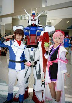 Anime Expo 2014: Kira Yamato and Lacus Clyne (Gundam Seed)