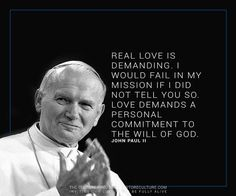 Pope John Paul Ii Quotes Blessed Pope John Paul Ii Quote …  Pinteres…