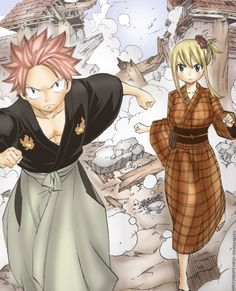 Natsu and Lucy: Fairy Tail