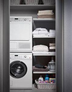 Bagno piccolo con lavatrice (Foto 16/40) | Designmag