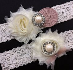 Nice Wedding Garter Selection by Donna Ashby on Etsy