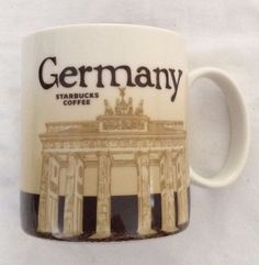 Starbucks City Mug Cup Global Icon Series Germany 16oz  #Starbucks