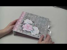 Mini Album Scrapbook  - Tedi Papier - YouTube
