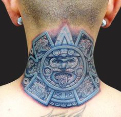 Get Best Aztec Tattoos Designs Ideas Latest Pictures and Images of Girl and Men Aztec Warrior on Sleeve, Arm, and Foot with Meanings HD Wallpapers Gallery. Creative Tattoos, Unique Tattoos, Aztec Tattoos Sleeve, Neck Tattoos, Tatoos, Quetzalcoatl Tattoo, Ray Tattoo, Mayan Tattoos, Azteca Tattoo