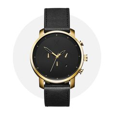 Mvmt Chrono Gold Black