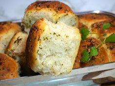 Magiskt brytbröd med olivolja och vitlök