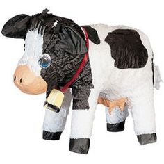 Our Cow Pinata will take your guests down to the farm for some birthday fun. Each Cow Pinata measures 17 inches long.