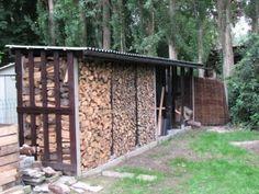 een houthok bouwen - 4 meter breed.