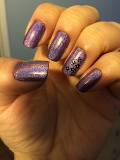 Holographic with shooting stars