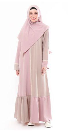 Source by The post Yanna Azwar Bella Dress Set Hijab-Pink Cream appeared first on Fancy. Modest Dresses, Simple Dresses, Nice Dresses, Casual Dresses, Abaya Fashion, Women's Fashion Dresses, Moslem Fashion, Abaya Designs, Hijab Fashion Inspiration
