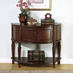 Coaster Storage EntryWay Console Table/Hall Table Brown Finish Dining Room Decor   Home & Garden, Furniture, Tables   eBay!