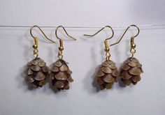 A personal favorite from my Etsy shop https://www.etsy.com/listing/468442566/mini-pine-cone-earrings