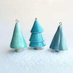 Ceramic trees.