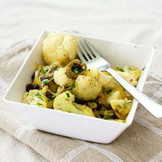 "Saffron Cauliflower with Raisins and Olives from ""Plenty"" by Yotam ..."