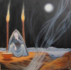 Hecate Full Moon by MariaAragon on Etsy