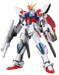 Bandai Hobby HGBF Star Build Strike Gundam Plavsky Wing Model Kit (1/144 Scale) #Bandai