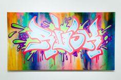 Risky Graffiti / Work / Outdoor