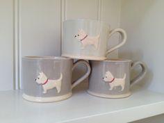West Highland Terrier Mug by Jane Hogben