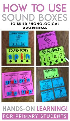 Literacy Strategy that Works: Sound Boxes – A Kinderteacher Life Literacy Strategy that Works: Sound Boxes – A Kinderteacher Life,School Sound boxes are a great tool to help students to practice writing sounds they. Phonics Lessons, Phonics Words, Phonics Activities, Cvc Words, Preschool Phonics, Teaching Phonics, Work Activities, Student Teaching, Teaching Ideas