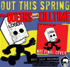 News: The Queers to Release Split 7″ with Italy's Killtime (ex Real Swinger)