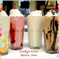 Cindy's Diner is at the corner of US62 and SR39.  It has a 50's diner feel with burgers, fries, shakes,etc.  They also serve dinners. #berlin #ohio #dining #restaurant #icecream