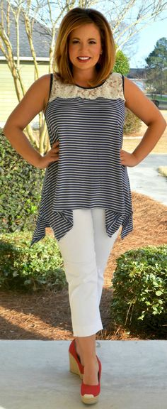 Perfectly Priscilla Boutique - Sail Away With Me Tank, $38.00 (http://www.perfectlypriscilla.com/sail-away-with-me-tank/)