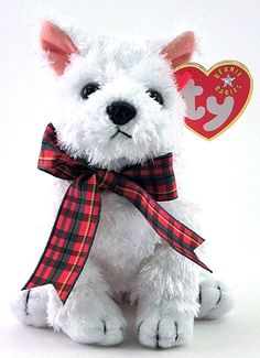 Kirby the dog - Ty Beanie Baby Ty Beanie Boos, Beanie Baby Dog, Plush Animals, Cute Animals, Beanie Babies Value, Ty Bears, Ty Plush, Ty Babies, Original Beanie Babies