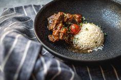 Beef Adobo - AvocadoBanane Avocado, Risotto, Grains, Rice, Beef, Cooking, Ethnic Recipes, Food, Banana