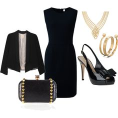 Business Dinner, created by beachpeace on Polyvore