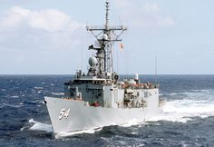 Picture of the USS Ford (FFG-54) Though the numbers of Oliver Hazard Perry-class ships has dwindled, the USS Ford FFG-54 remains an active player on the high seas.