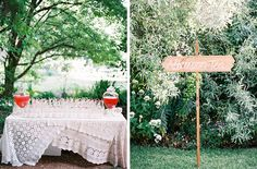 Omg this is the most beautiful wedding I've ever seen. AMANDA! A Secret Garden Wedding : Made From Scratch
