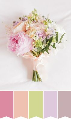 Summer bridal bouquet inspiration | www.onefabday.com | #Flowers #Bride #Wedding