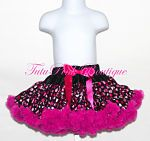 Petti Skirt Deluxe Black with Valentine Hearts, Birthday Outfit, Bubble Knickers, Valentine's Day, TutuPink, Tutu Pink Boutique, photo prop